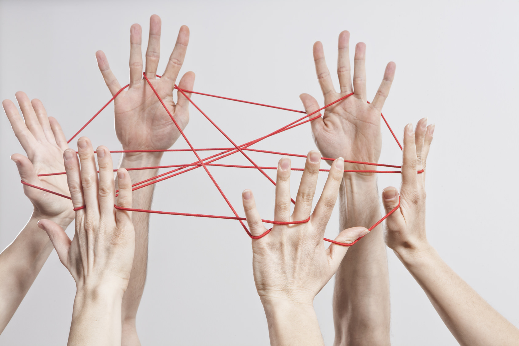 Connection, Team, Teamwork, Relationship, Hands, Cat's Cradle